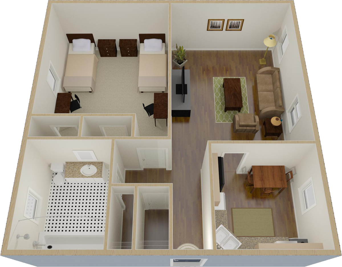 Towson One Bedroom